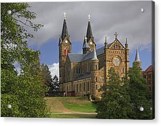 Acrylic Print featuring the photograph St. Mainrad Archabbey by Wendell Thompson