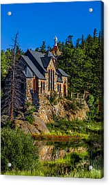 St Malos Church Acrylic Print by Rebecca Adams