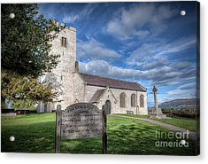 St Marcella's Church Acrylic Print by Adrian Evans