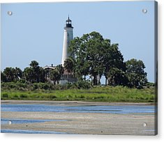 St Marks Lighthouse Acrylic Print by Marilyn Holkham