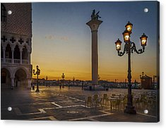 St Marks Square Acrylic Print