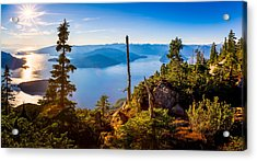 St Mark's Summit Near Vancouver Acrylic Print