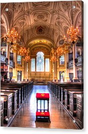 St Martin In The Fields Acrylic Print