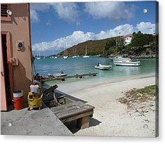 Acrylic Print featuring the photograph St. Martins  by Cathy Donohoue