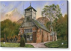 St. Mary And All Saints Acrylic Print by Anthony Forster