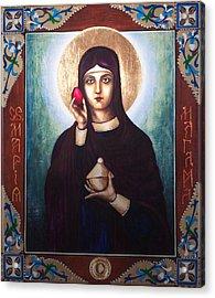 St. Mary Magdalene  Acrylic Print by Fr Barney Deane