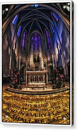 St Mary's 2 Acrylic Print