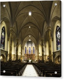 Acrylic Print featuring the photograph St Mary's Catholic Church by Lynn Geoffroy