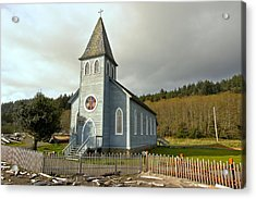 St Mary's Chruch Acrylic Print by Marv Russell