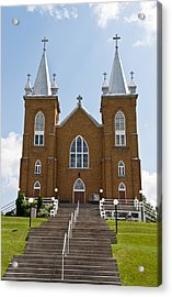 Acrylic Print featuring the photograph St Mary's Church In Wilno Ontario Canada by Marek Poplawski
