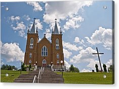 Acrylic Print featuring the photograph St. Mary's Church by Marek Poplawski