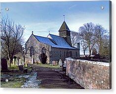 St Marys Church Raskelf Acrylic Print by Trevor Kersley