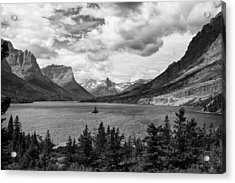 St. Mary's Lake Acrylic Print by Andrew Soundarajan