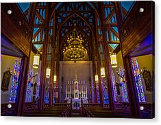 St. Mary's Of The Mountains Church Acrylic Print