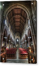 St Mary's Without The Walls V2 Acrylic Print by Ian Mitchell
