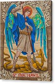 St. Michael Acrylic Print by Jason Honeycutt