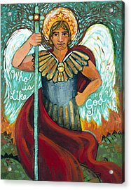 St. Michael The Archangel Acrylic Print