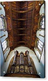 St Michael's Church Framlingham Acrylic Print
