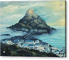 St. Michael's Mount Acrylic Print by Terry Albert