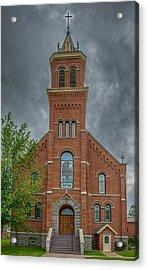 St Micheals Church Acrylic Print by Paul Freidlund