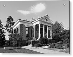 St. Olaf College Steensland Hall Acrylic Print by University Icons