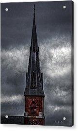 St. Patricks Spire  Acrylic Print by Bob Orsillo