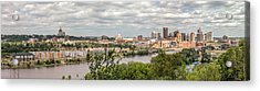 St Paul Skyline 2005 Acrylic Print