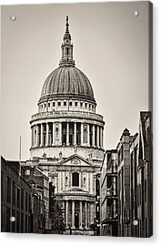 St Pauls London Acrylic Print