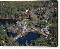 St. Pauls School, Concord Acrylic Print by Dave Cleaveland