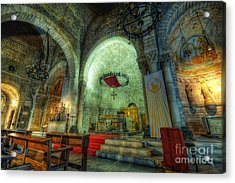 St Pere De Puelles Church - Barcelona Acrylic Print