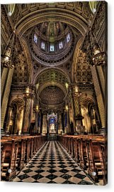 St. Peter And Paul Cathedral Acrylic Print by Kim Zier