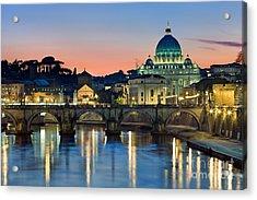 St Peter's - Rome Acrylic Print
