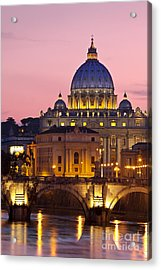 St Peters Basilica Acrylic Print by Brian Jannsen