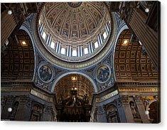 St. Peters Basilica Acrylic Print by Corey Sheehan