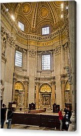 St Peter's Cathedral Acrylic Print