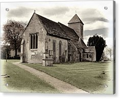 St Peters Church 1 Acrylic Print