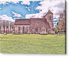 St Peters Church 3 Acrylic Print