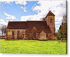 St Peters Church 4 Acrylic Print