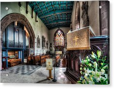 St Peter's Church Acrylic Print by Adrian Evans