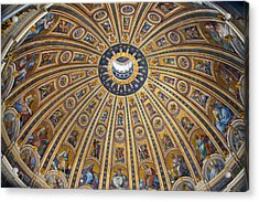 St. Peter's Cupola Acrylic Print