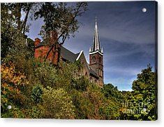 St. Peter's Of Harpers Ferry Acrylic Print by Lois Bryan