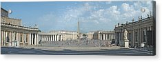 St. Peter's Square Acrylic Print by Harold Shull