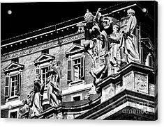 St. Peters Watchers Acrylic Print by John Rizzuto