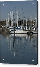 St. Petersburg Boats 1 Acrylic Print