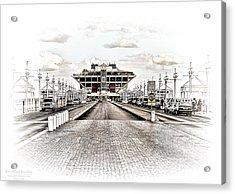 St. Petersburg Pier Dec 2011  Acrylic Print