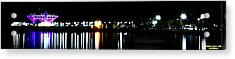 St. Petersburg Pier Panorama Acrylic Print by Richard Zentner