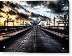 St. Petersburg Pier Sunrise  Acrylic Print