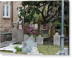 St. Philips Cemetery - French Quarter Charleston Acrylic Print