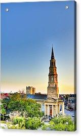 St. Phillips Church Acrylic Print by Drew Castelhano