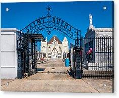 St Roch's Cemetery Acrylic Print by Steve Harrington